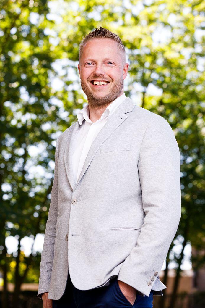 Bas Razenberg, directeur van Helicon VMBO en Helicon MBO in Den Bosch.