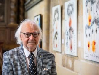 ZIEN. Kunstenaar Jan Latinne viert 85ste verjaardag met nieuwe expo in As