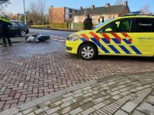 Scooterrijder gewond na aanrijding in Hengelo