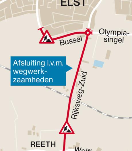 Rijksweg-Zuid en De Bussel drie nachten op slot