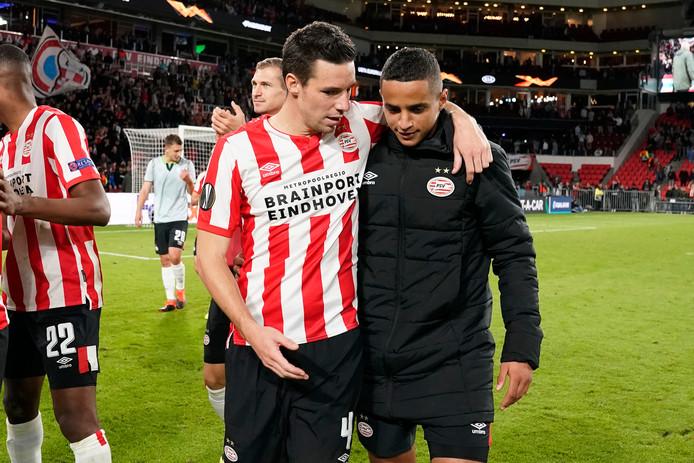 Nick Viergever blikt met Mohamed Ihattaren terug op de zege op Sporting.