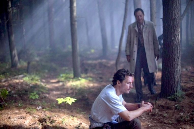 Matthew McConaughey in 'The Sea of Trees'. Beeld rv