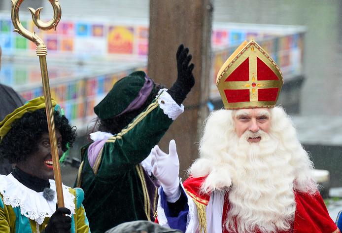 Sinterklaas op een foto uit 2015 tijdens de intocht in Gouda.