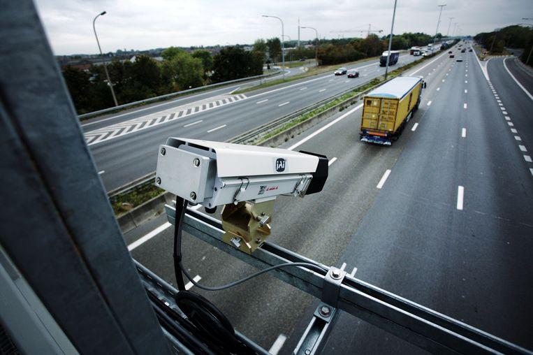 34 nieuwe trajectcontroles komen er binnen dit en een jaar bij in Vlaanderen. Beeld RV