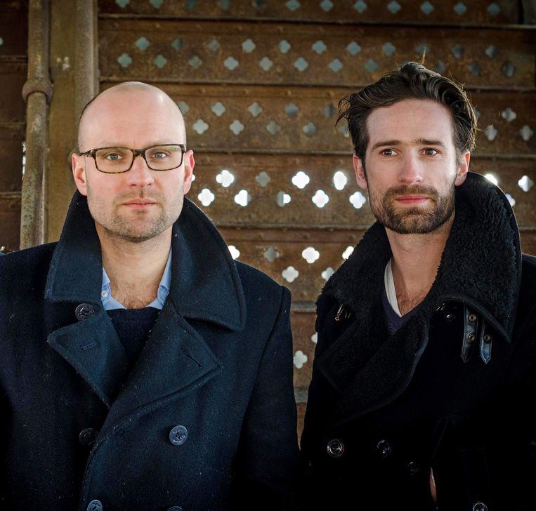 Architecten Koen Baeyens en Basile Graux. Beeld Olivier Vanhove