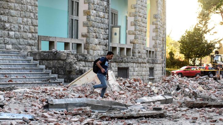 Albanië getroffen door zwaarste aardbeving sinds jaren