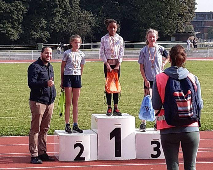 Scholenveldloop Vilvoorde: Maelys Ooms uit het zesde leerjaar staat op nummer 1