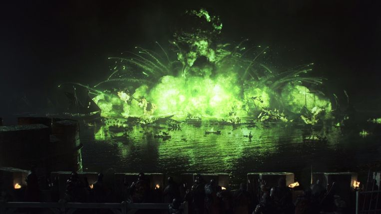 Battle of the Blackwater Beeld hbo