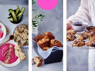 Snacken zonder schuldgevoel? Het kan: van wortel-rozijnenkoekjes tot bananen-perenmuffins