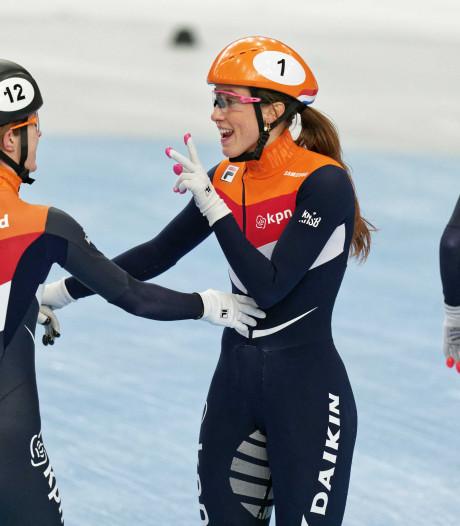 Nederlandse vrouwen en mannen vrij eenvoudig naar Europese relayfinale
