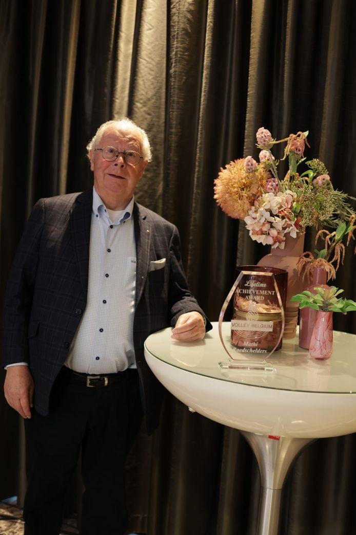 Lifetime Achievement Award: Mathieu Raedschelders.