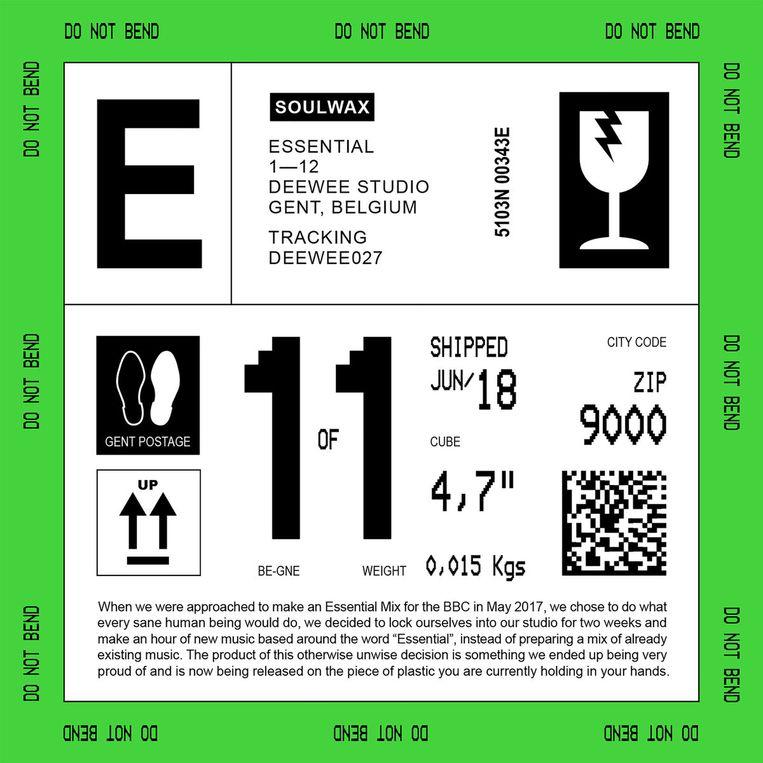 'Essential'-albumcover. Beeld rv