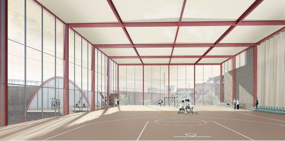 Nieuw sportcentrum Nieuwland.