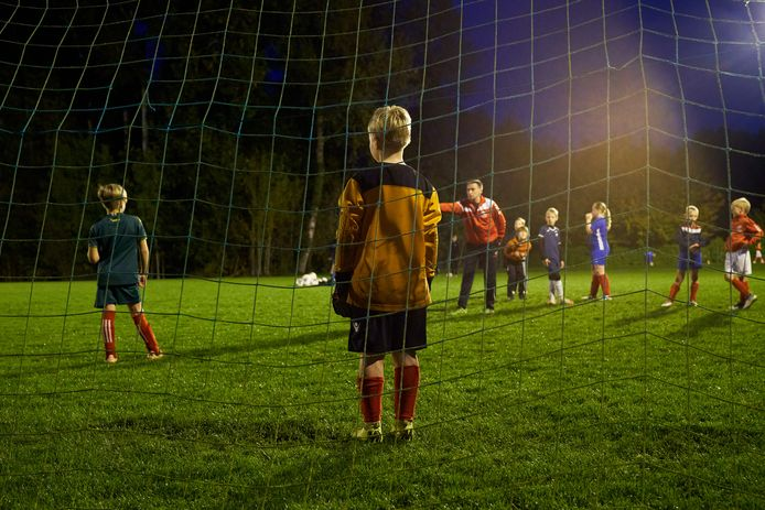 Illustratiebeeld jeugdvoetbal.