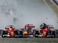 Max in Singapore: de veelbesproken 'NO' en de Ferrari-sandwich