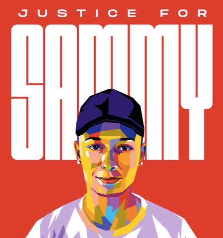 Poster gemaakt voor de inzamelingsactie voor Samuel Seewald.  Beeld Screenshot campagneposter