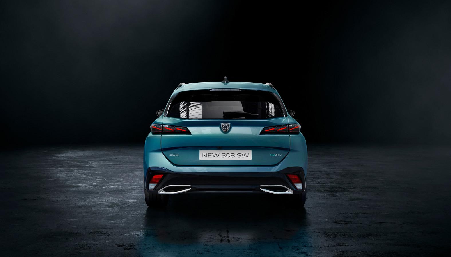 De nieuwe Peugeot 308 SW.