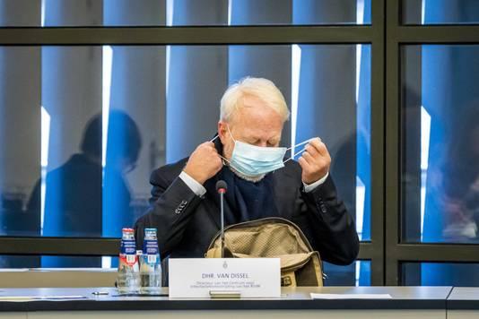 Jaap van Dissel van het RIVM in de Tweede Kamer.