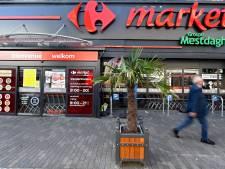Une quarantaine de Carrefour Market en grève