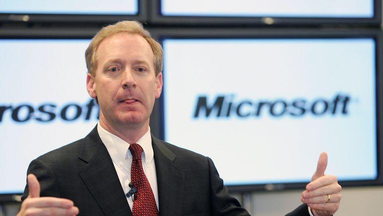 Juridisch directeur van Microsoft Brad Smith Beeld anp