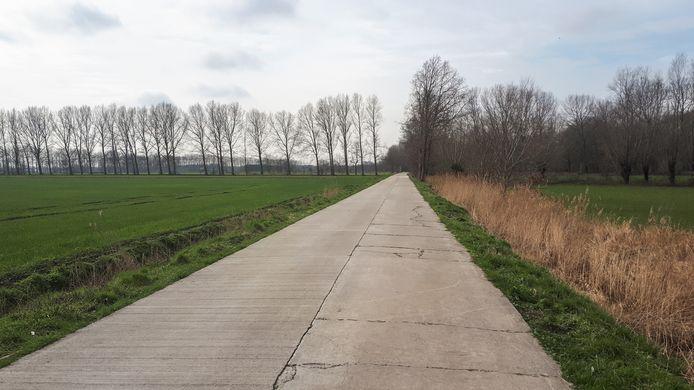De groene streek rond de Moervaart die door Stekene, Moerbeke en Wachtebeke stroomt.