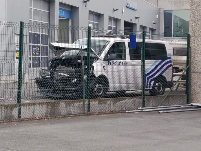De combi van politiezone Schelde-Leie was stevig ingedeukt.