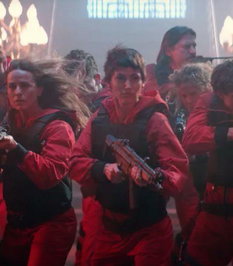 Laatste seizoen La Casa De Papel vanaf 3 september te zien op Netflix, maar niet volledig