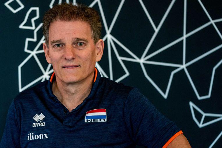Avital Selinger, bondscoach van het Nederlands vrouwenvolleybalteam.  Beeld ANP