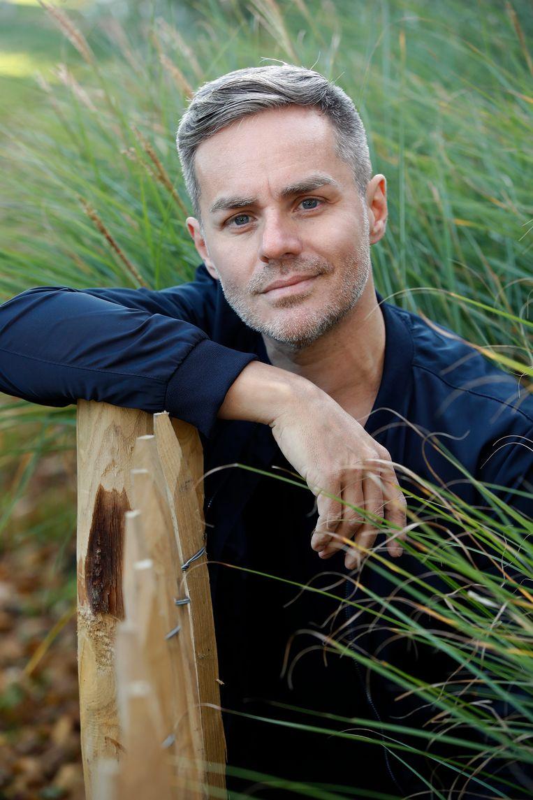 Radiomaker Peter Van de Veire, de man van Ilse Van Loy.  Beeld Kristof Ghyselinck