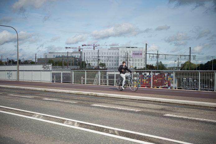 Illustratiebeeld: De Posthofbrug in Antwerpen.