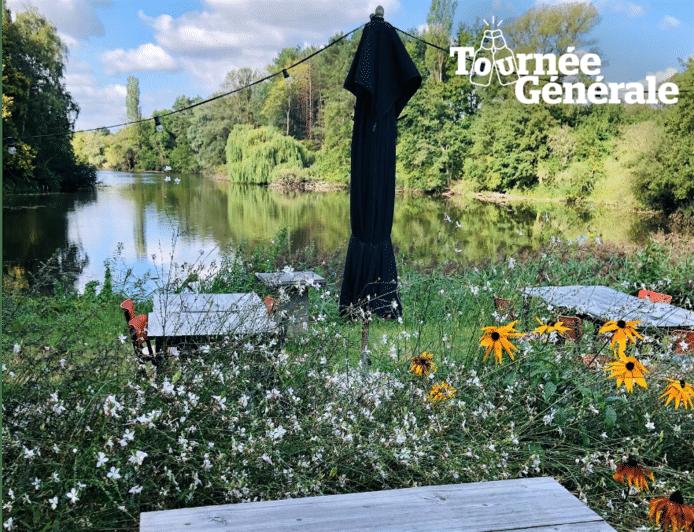 Het terras van De Beemden is de ideale plek om uit te blazen na een stevige wandeling.