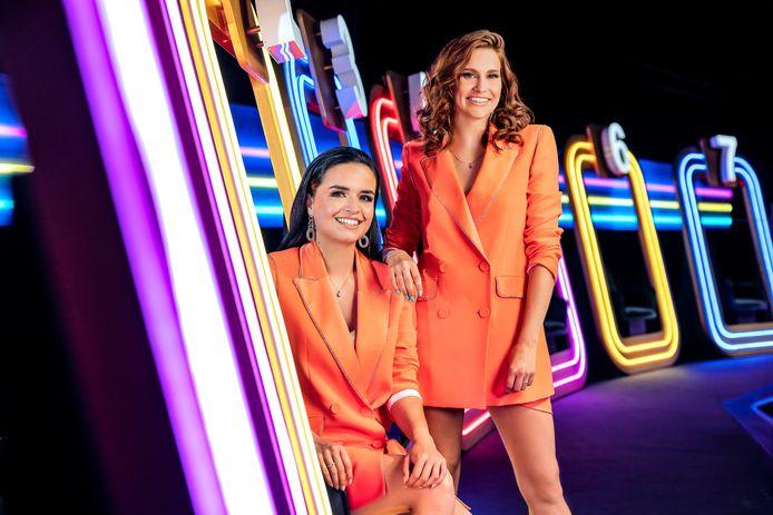 Marthe (links) en Hanne (rechts).