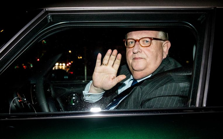 Henry Keizer vertrok als VVD-voorzitter na onthullingen van Follow the Money. Beeld anp