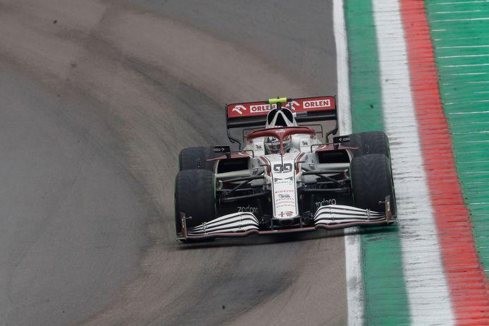 Antonio Giovinazzi is een van de twee vaste krachten bij Alfa Romeo dit seizoen.