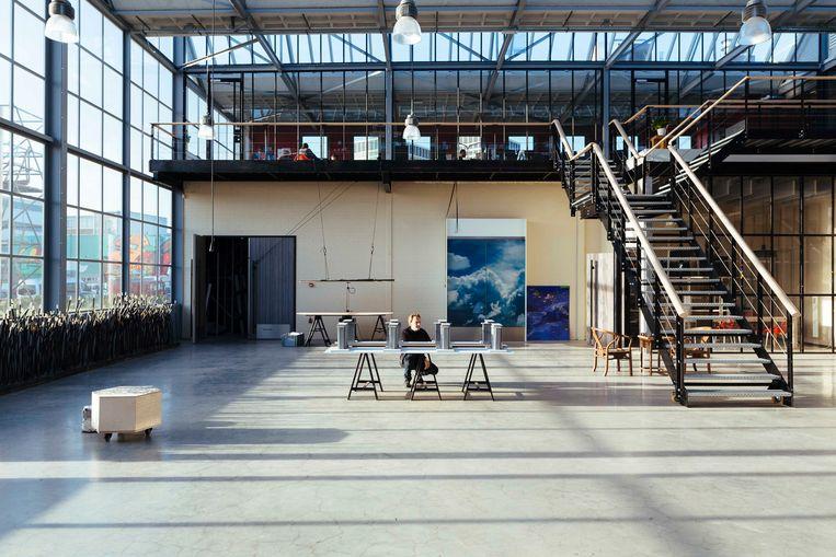 Studio Daan Roosegaarde. Beeld Willem de Kam