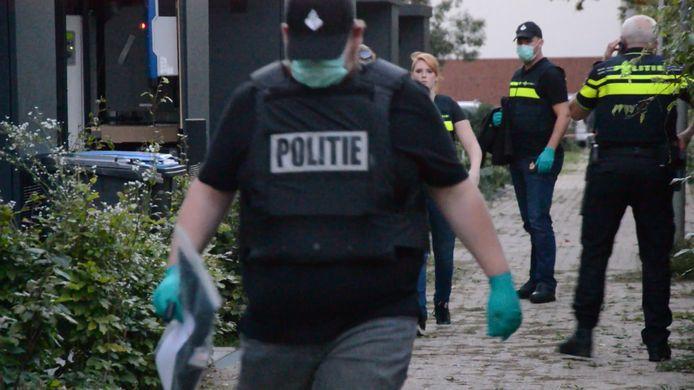 Beelden van de arrestaties vorige week.