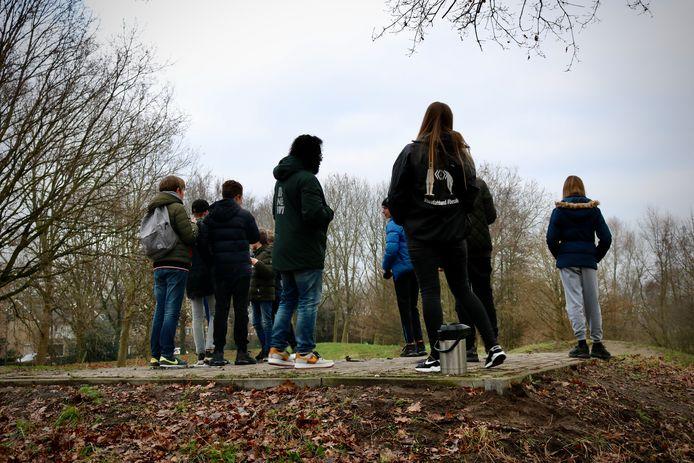 Jongerenwerkers van R-Newt zagen in coronajaar 2020 minder jongeren op straat in Boxtel.