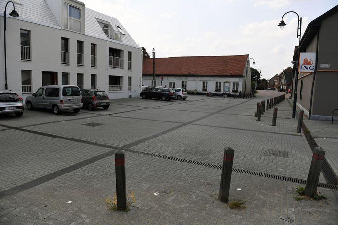 De Dorpstraat aan restaurant Bertem Brug.
