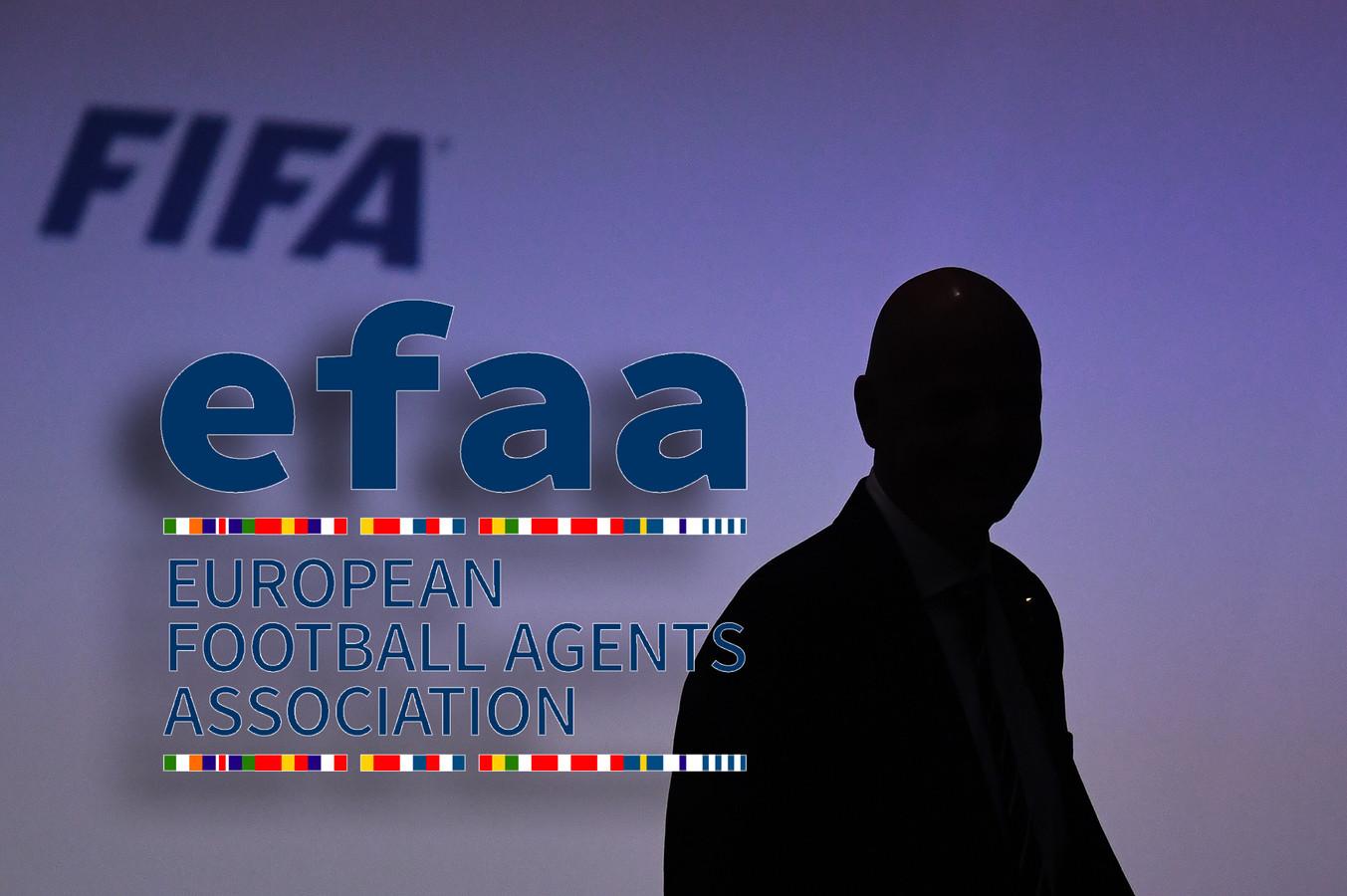 Gianni Infantino ligt onder vuur bij de EFAA, de Europese vereniging voor voetbalmakelaars.