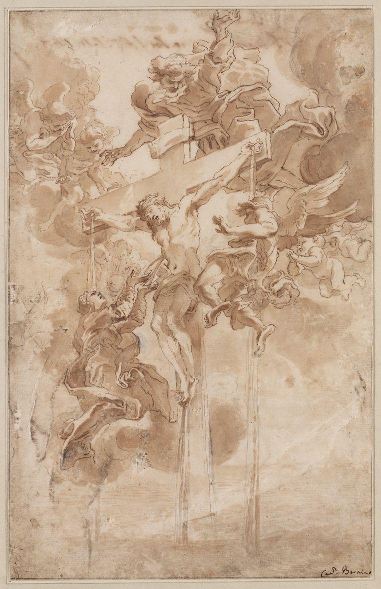 Giovanni Lorenzo Bernini (1598-1680), 'Allegorie op het Heilig Bloed van Christus' (ca. 1670) Beeld Collectie Teylers Museum