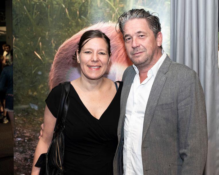 Dries Vanhegen en zijn echtgenote.