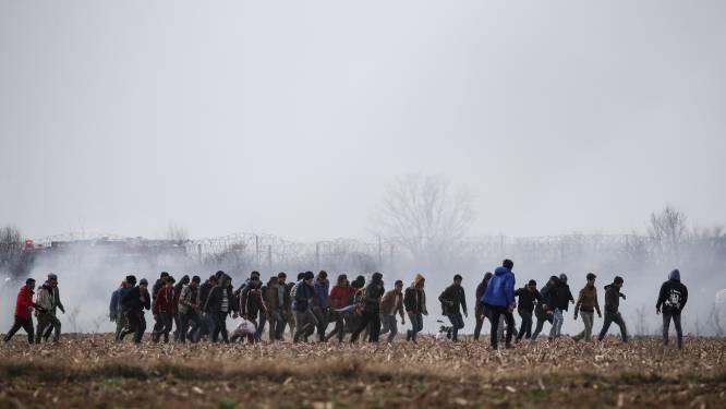 Ruim 24.000 vluchtelingen verzamelden zich aan Turks-Griekse grens