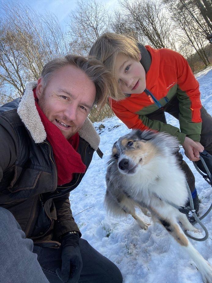 Ben Roelants, Otis en hond Joske
