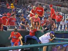 Honkbalwedstrijd in VS stilgelegd vanwege schietpartij
