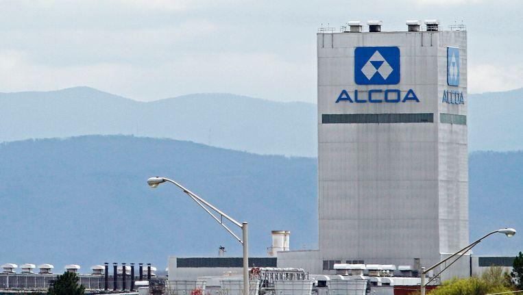 De gebouwen van het aluminiumbedrijf Alcoa in de Amerikaanse staat Tennessee. Beeld REUTERS
