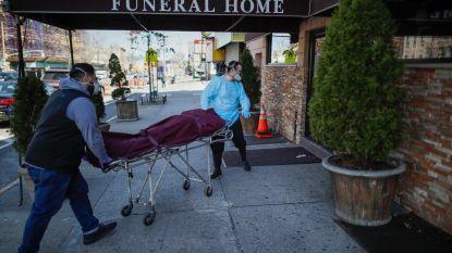 Record van bijna 1.200 doden op één dag in VS
