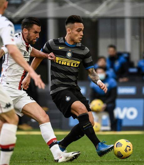 Vijf op een rij voor Inter: ook Strootman kan De Vrij en consorten niet stoppen