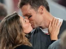 Le baiser de Gisele Bündchen et Tom Brady au Super Bowl attendrit la toile
