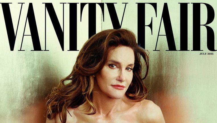 De cover van het julinummer van Vanity Fair met Caitlyn Jenner. Beeld Vanity Fair