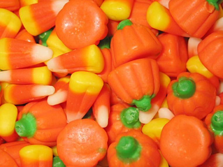 Halloween Snoep.Amerikaanse Tandartsen Zamelen Snoep In Na Halloween